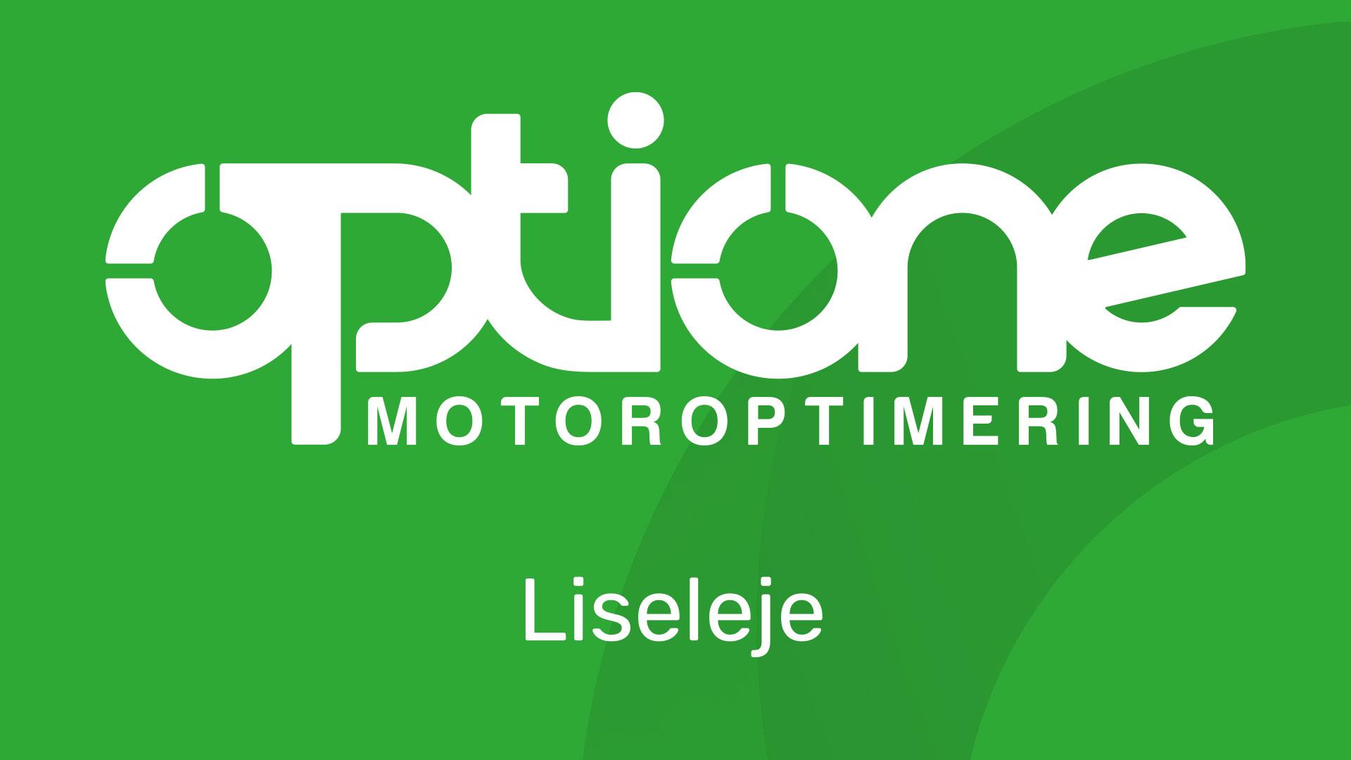 OptiOne Motoroptimering Liseleje