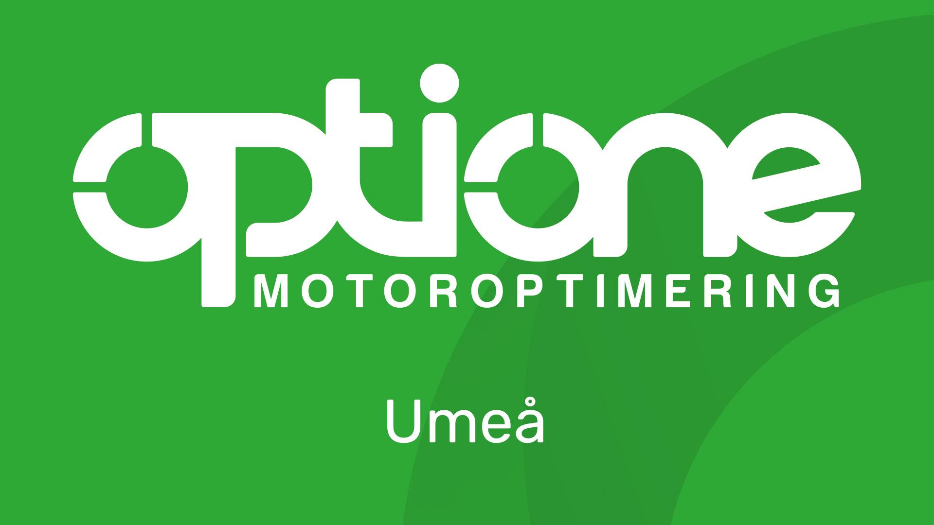 OptiOne Motoroptimering Umeå
